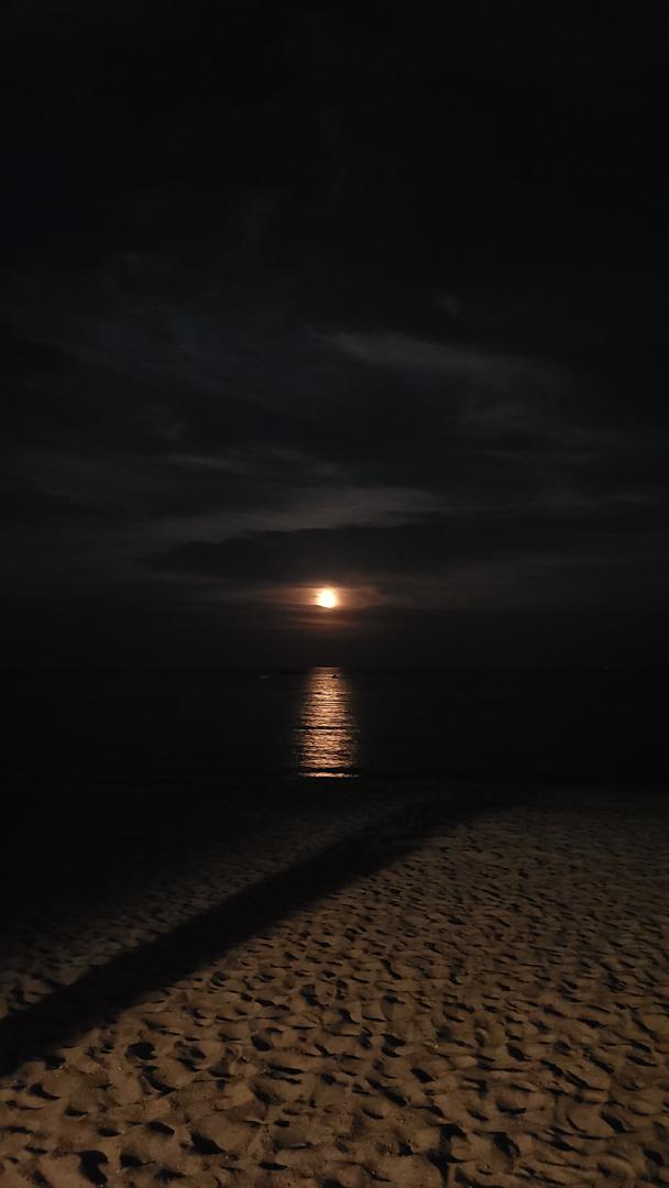 Luna llena en Milford, Connecticut