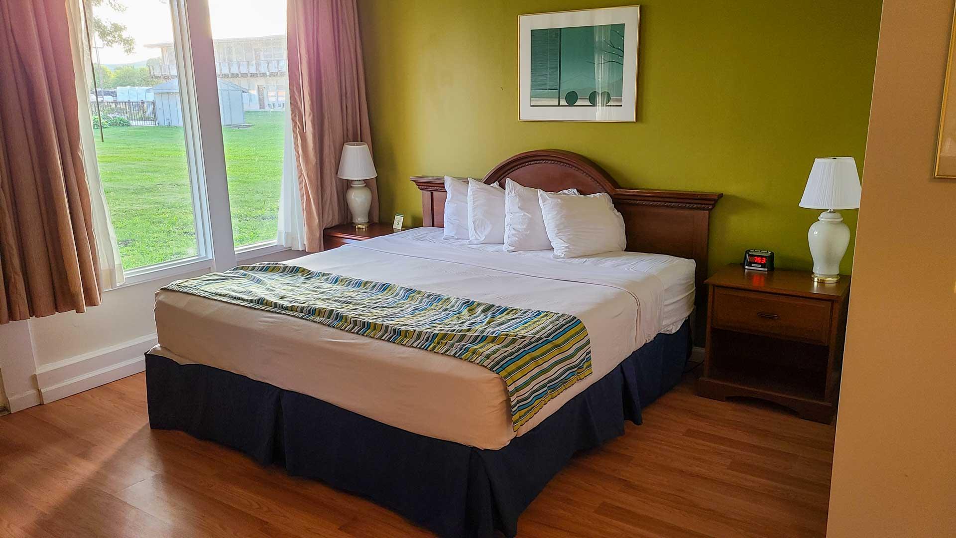 Americas Best Value Inn, nuestro alojamiento en los Finger Lakes