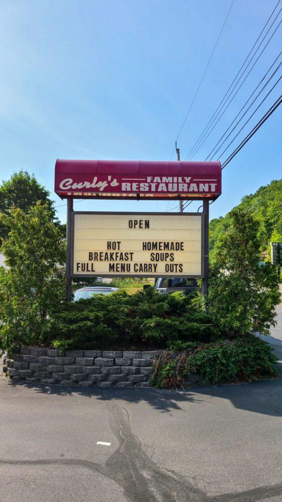 Curly's Family Restaurant en Watkins Glen, Nueva York