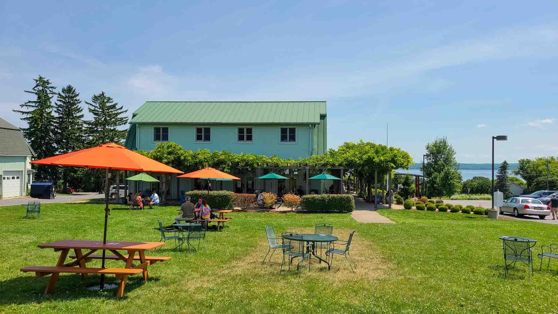 Fox Run Vineyards en Seneca Lake Wine Trail, Finger Lakes, Nueva York