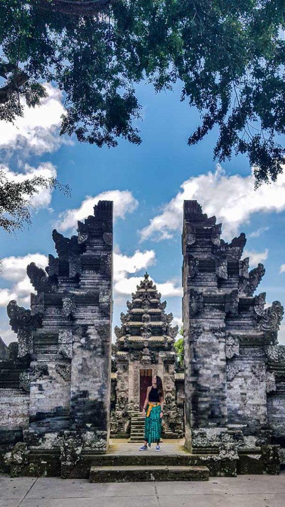 Puertas de Pura Kehen, Bali, Indonesia