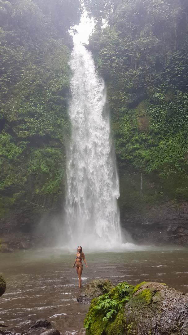 Cascada Nungnung, Bali, Indonesia