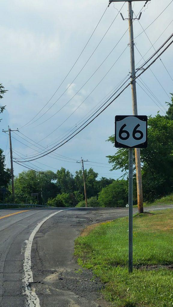 Un trocito de la ruta 66